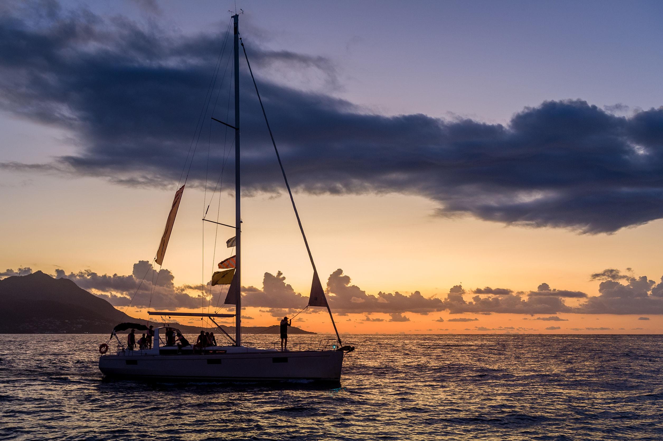 Una settimana veleggiante
